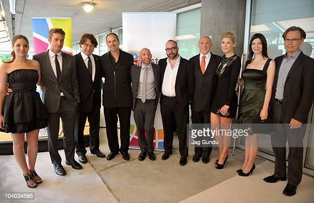 Actress Anna Hopkins actor Scott Speedman producer Robert Lantos director Richard J Lewis writer Michael Konyves actor Paul Giamatti President and...