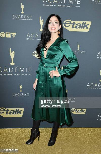 Actress Anna Hopkins attends Canadian Screen Awards The CTV Gala Honouring Excellence In Fiction Programming at Heritage Court Exhibition Place on...