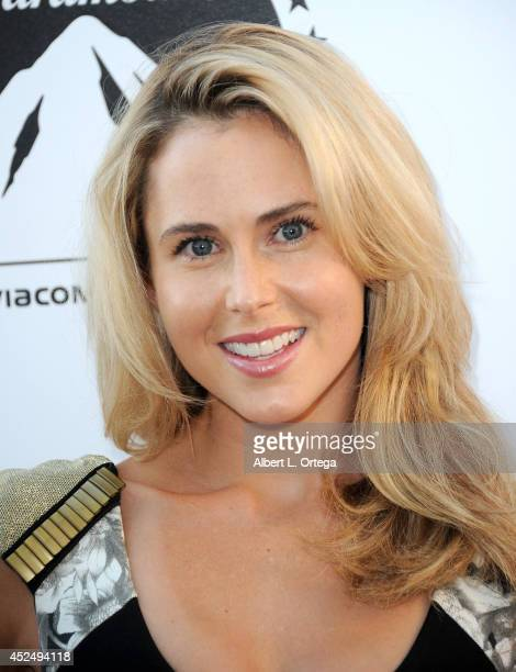 Actress Anna Hutchison arrives for the 4th Annual Variety The Children's Charity Of Southern CA Texas Hold 'Em Poker Tournament held at Paramount...