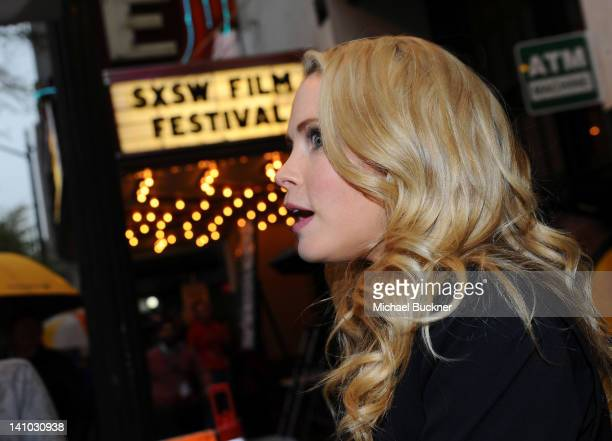Actress Anna Hutchison arrives to the world premiere of 'The Cabin in the Woods' at Paramount Theater on March 9 2012 in Austin Texas