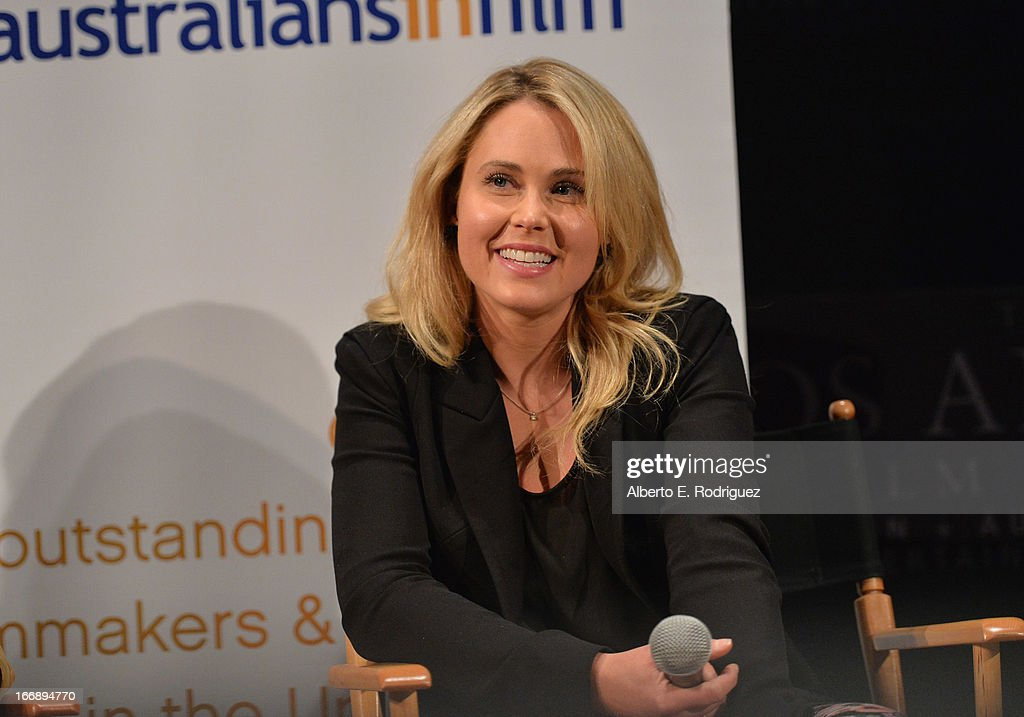 Actress Anna Hutchison attends Australians In Film's screening of Revival Film Company's 'Blinder' at Los Angeles Film School on April 17, 2013 in Los Angeles, California.