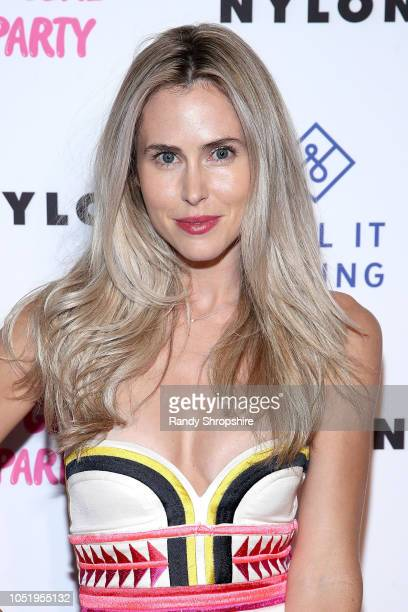 Actress Anna Hutchison attends NYLON's annual It Girl Party sponsored by Call It Spring at Ace Hotel on October 11 2018 in Los Angeles California