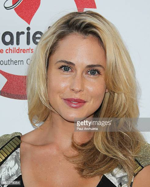 Actress Anna Hutchison attends the 4th annual Variety's Texas Hold 'Em poker tournament at to benefit The Children's Charity Of Southern California...