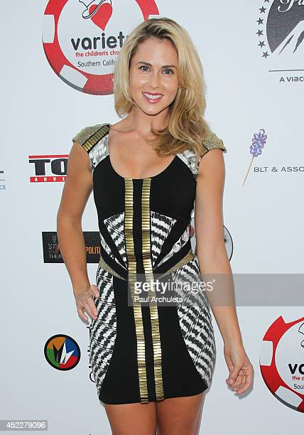 Actress Anna Hutchison attends the 4th annual Variety's Texas Hold 'Em poker tournament at to benefit 'The Children's Charity Of Southern California'...