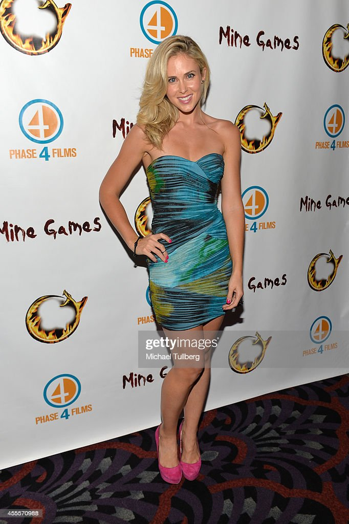 "Premiere Of ""Mine Games"" - Arrivals"