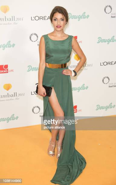 Actress Anna Julia Kapfelsperger arrives for the DKMS Life CharityGala which runs under the motto 'look good feel better' in benefit of female cancer...