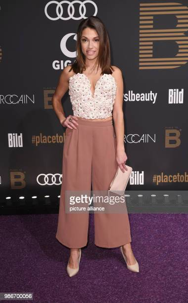 Actress Anna Julia Kapfelsperger attends the PLACE To B Party of the Berlin InternationalFilm Festival at the restaurant Borchardt in Berlin Germany...
