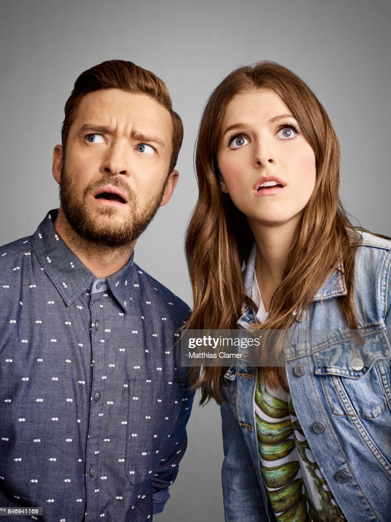 Actress Anna Kendrick and Justin Timberlake from 'Trolls' are photographed for Entertainment Weekly Magazine on July 21, 2016 at Comic Con in the Hard Rock Hotel in San Diego, California.