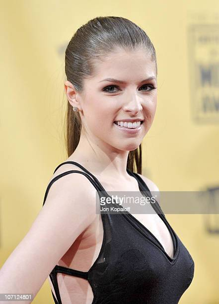 Actress Anna Kendrick arrives at the 15th Annual Critic's Choice Movie Awards at the Hollywood Palladium on January 15 2010 in Hollywood California