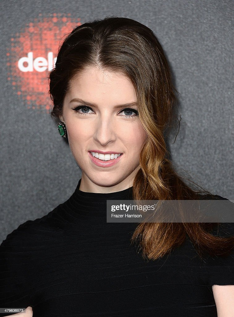 Actress Anna Kendrick arrives at the 2nd Annual Rebels With A Cause Gala at Paramount Studios on March 20, 2014 in Hollywood, California.