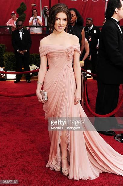 Actress Anna Kendrick arrives at the 82nd Annual Academy Awards held at Kodak Theatre on March 7 2010 in Hollywood California
