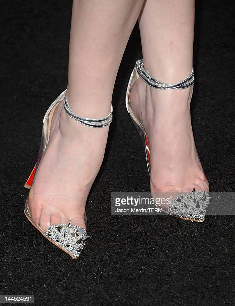 Actress Anna Kendrick arrives at the premiere of Lionsgate's 'What To Expect When You're Expecting' held at Grauman's Chinese Theatre on May 14 2012...