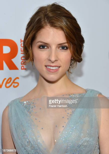 Actress Anna Kendrick arrives at Trevor Live honoring Katy Perry and Audi of America for The Trevor Project held at The Hollywood Palladium on...