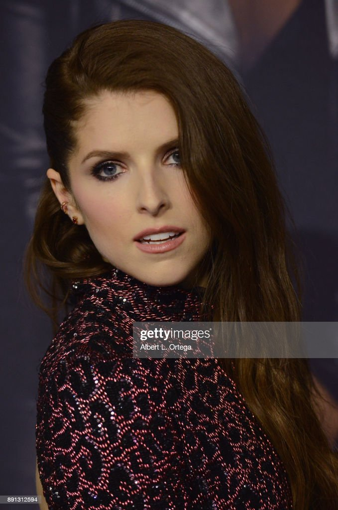 Actress Anna Kendrick arrives for the premiere of Universal Pictures' 'Pitch Perfect 3' held at The Dolby Theater on December 12, 2017 in Hollywood, California.