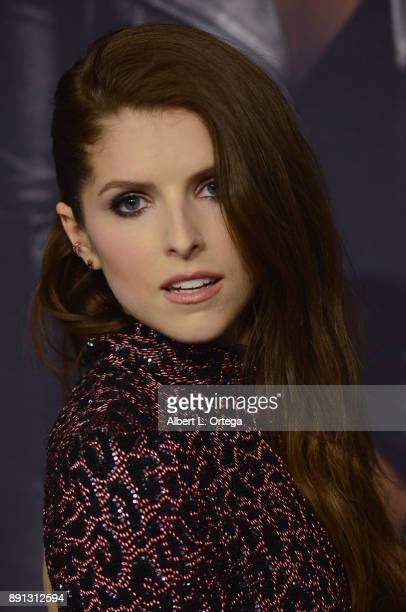Actress Anna Kendrick arrives for the premiere of Universal Pictures' 'Pitch Perfect 3' held at The Dolby Theater on December 12 2017 in Hollywood...