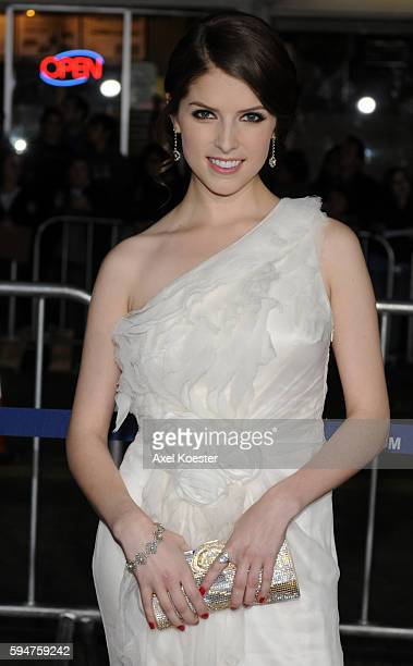 Actress Anna Kendrick arrives to the Los Angeles premiere of Paramount Picture's 'Up In The Air' at Mann's Village Theater in Westwood Monday evening