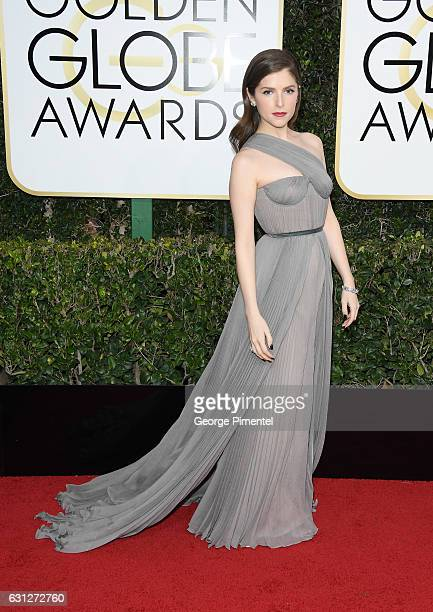 Actress Anna Kendrick attends 74th Annual Golden Globe Awards held at The Beverly Hilton Hotel on January 8 2017 in Beverly Hills California
