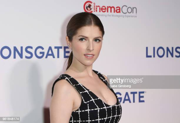 Actress Anna Kendrick attends CinemaCon 2018 Lionsgate Invites You to An Exclusive Presentation Highlighting Its 2018 Summer and Beyond at The...