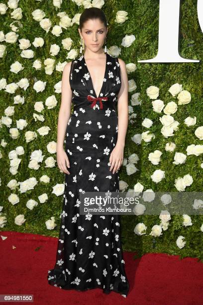 Actress Anna Kendrick attends the 2017 Tony Awards at Radio City Music Hall on June 11 2017 in New York City