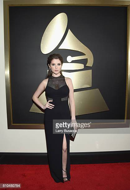 Actress Anna Kendrick attends The 58th GRAMMY Awards at Staples Center on February 15 2016 in Los Angeles California