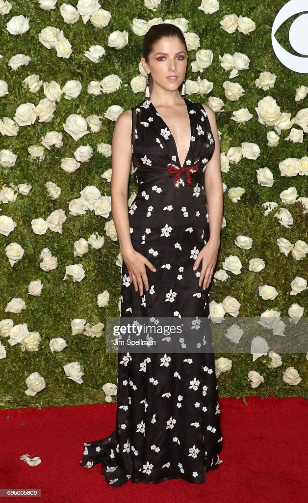 Actress Anna Kendrick attends the 71st Annual Tony Awards at Radio City Music Hall on June 11, 2017 in New York City.