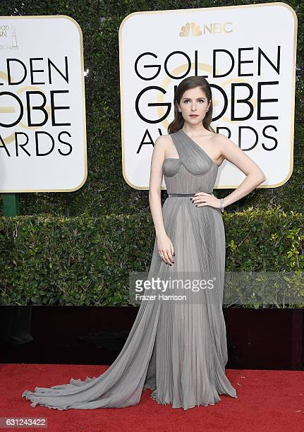 Actress Anna Kendrick attends the 74th Annual Golden Globe Awards at The Beverly Hilton Hotel on January 8 2017 in Beverly Hills California