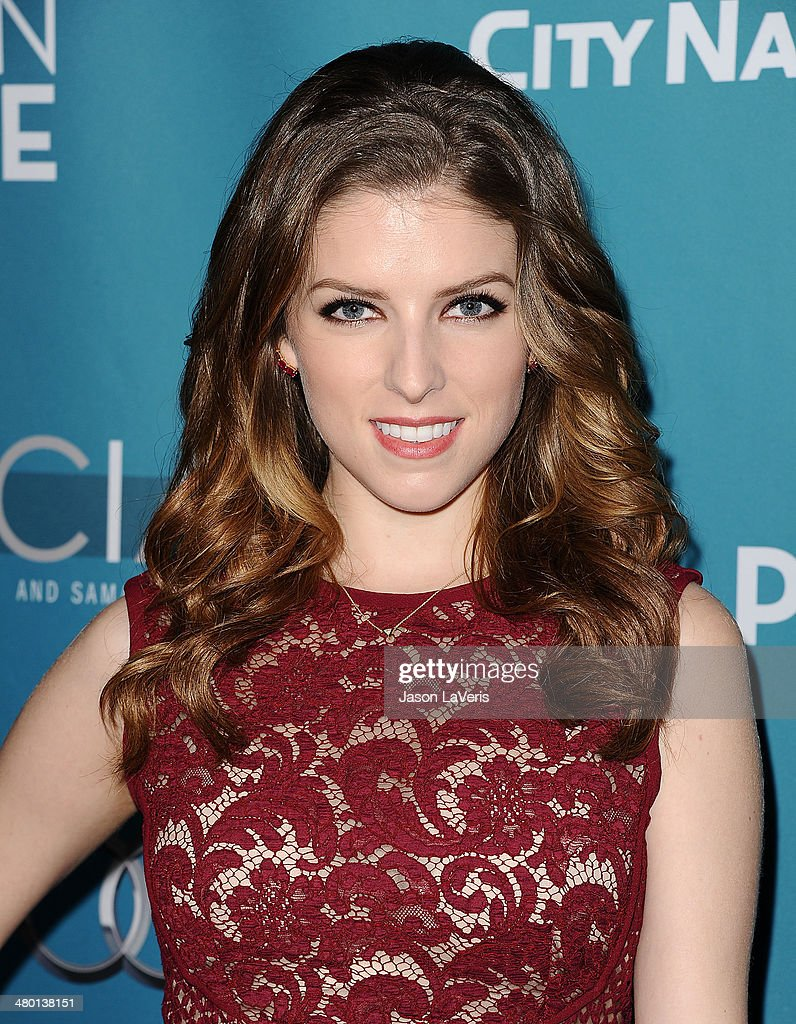 Actress Anna Kendrick attends the Backstage at the Geffen annual fundraiser at Geffen Playhouse on March 22, 2014 in Los Angeles, California.