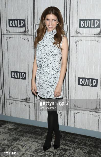 Actress Anna Kendrick attends the Build Series to discuss The Day Shall Come at Build Studio on September 25 2019 in New York City