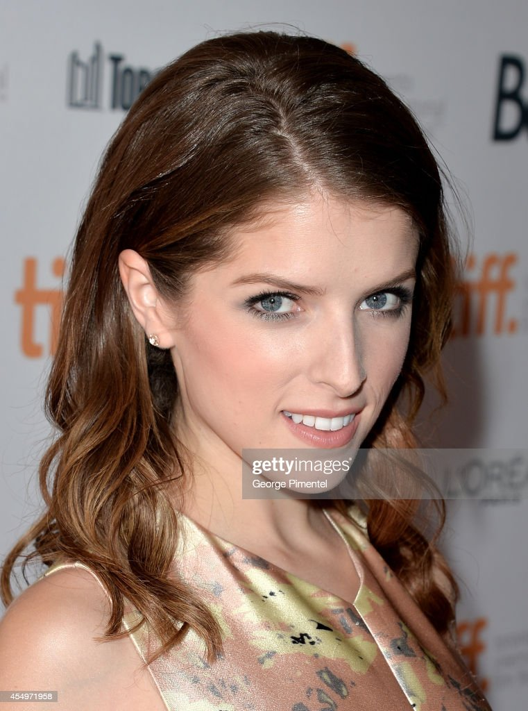 Actress Anna Kendrick attends the 'Cake' premiere during the 2014 Toronto International Film Festival at The Elgin on September 8, 2014 in Toronto, Canada.