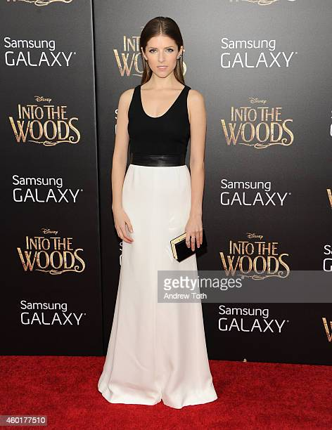 Actress Anna Kendrick attends the 'Into The Woods' world premiere at Ziegfeld Theater on December 8 2014 in New York City