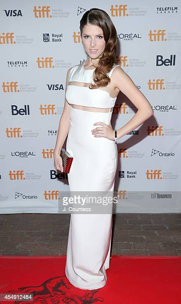 Actress Anna Kendrick attends The Last Five Years Premiere at Ryerson Theatre during the 2014 Toronto International Film Festival on September 7 2014...