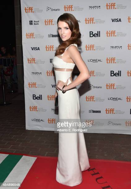 Actress Anna Kendrick attends The Last Five Years premiere during the 2014 Toronto International Film Festival at Ryerson Theatre on September 7 2014...