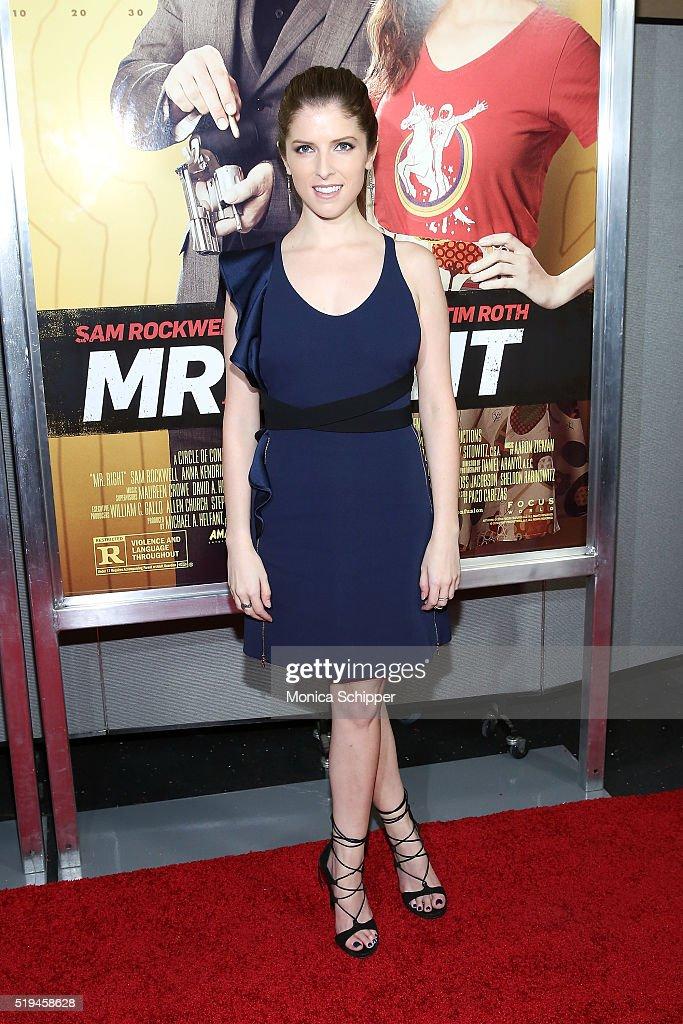 """Mr. Right"" New York Premiere : News Photo"