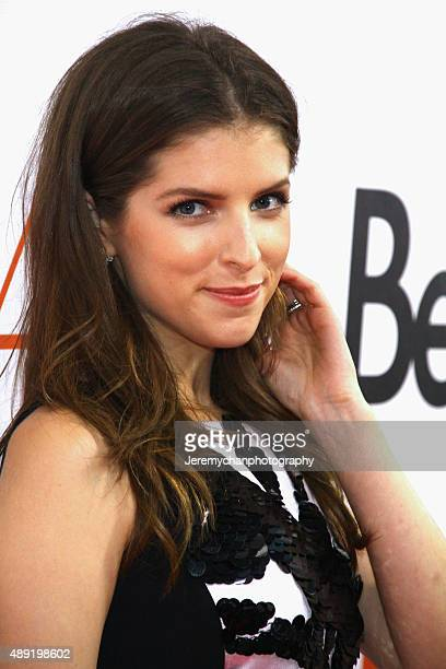 Actress Anna Kendrick attends the Mr Right premiere during the 2015 Toronto International Film Festival held at Roy Thomson Hall on September 19 2015...