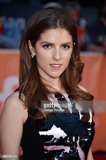 """Actress Anna Kendrick attends the """"Mr. Right"""" premiere during the Toronto International Film Festival at Roy Thomson Hall on September 19, 2015 in..."""
