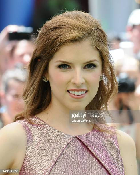 Actress Anna Kendrick attends the premiere of ParaNorman at AMC CityWalk Stadium 19 at Universal Studios Hollywood on August 5 2012 in Universal City...