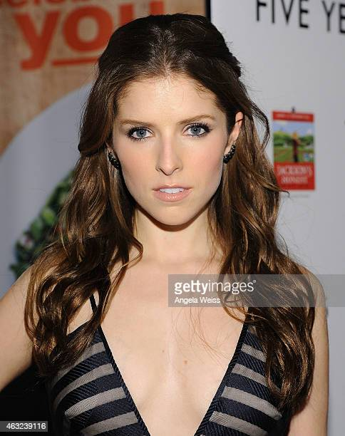 Actress Anna Kendrick attends the premiere of RADiUS' 'The Last Five Years' at ArcLight Hollywood on February 11 2015 in Hollywood California