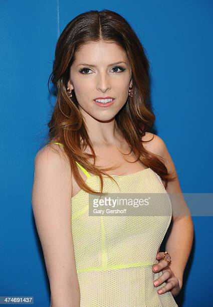 Actress Anna Kendrick attends the 'The Last Five Years' New York Screening at the Walter Reade Theater on February 24 2014 in New York City