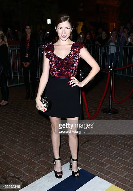 Actress Anna Kendrick attends The Voices premiere during the 2014 Toronto International Film Festival at Ryerson Theatre on September 11 2014 in...