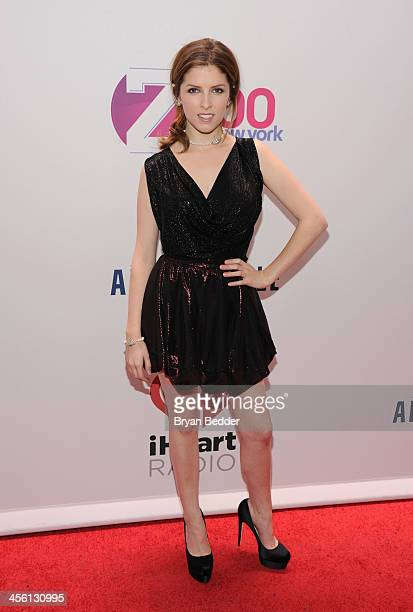 Actress Anna Kendrick attends Z100's Jingle Ball 2013 presented by Aeropostale at Madison Square Garden on December 13 2013 in New York City