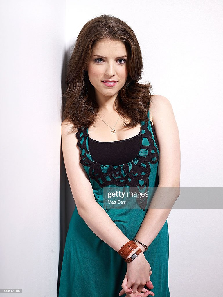Actress Anna Kendrick from the film 'Up in the Air' poses for a portrait during the 2009 Toronto International Film Festival at The Sutton Place Hotel on September 12, 2009 in Toronto, Canada.