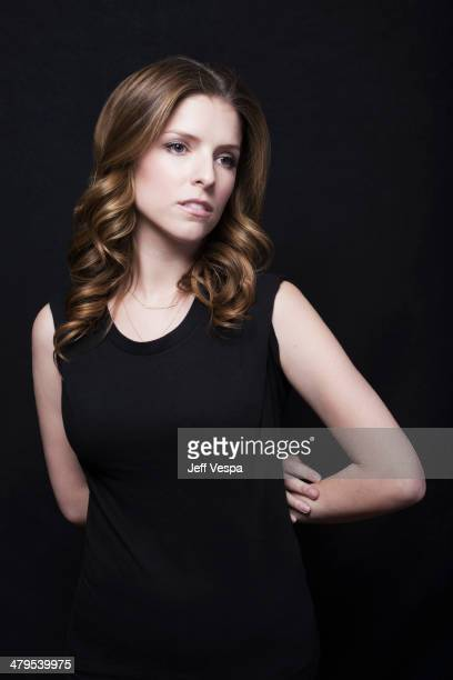 Actress Anna Kendrick is photographed at the Sundance Film Festival 2014 for Self Assignment on January 25 2014 in Park City Utah
