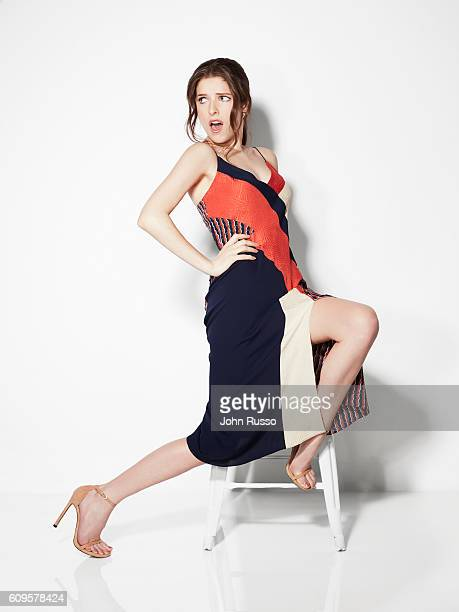 Actress Anna Kendrick is photographed for 20th Century Fox on May 26 2016 in Los Angeles California