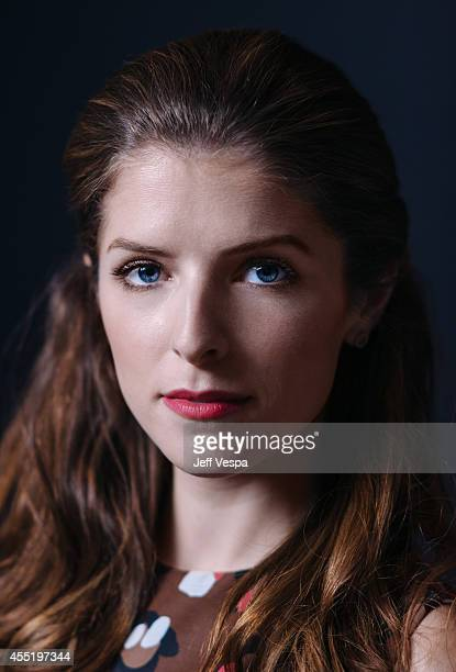 Actress Anna Kendrick is photographed for a Portrait Session at the 2014 Toronto Film Festival on September 9 2014 in Toronto Ontario