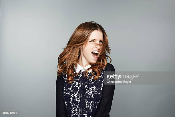 Actress Anna Kendrick is photographed for Entertainment Weekly Magazine on January 25 2014 in Park City Utah