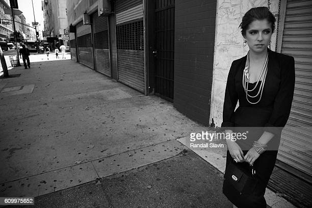 Actress Anna Kendrick is photographed for New York Moves on July 2, 2012 in Los Angeles, California.