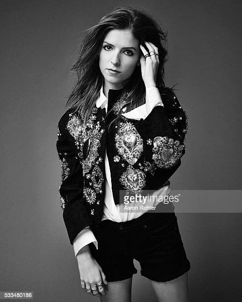 Actress Anna Kendrick is photographed for Nylon Magazine in December 2014