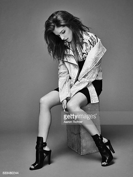 Actress Anna Kendrick is photographed for Nylon Magazine in December 2014 PUBLISHED IMAGE