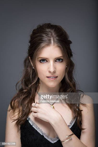 Actress Anna Kendrick is photographed for The Hollywood Reporter on May 14 2016 in Cannes France