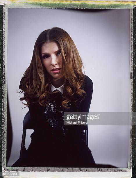 Actress Anna Kendrick is photographed for Variety on January 18 2014 in Park City Utah